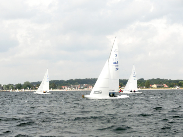 the 1st race - Marblehead Trophy 2014